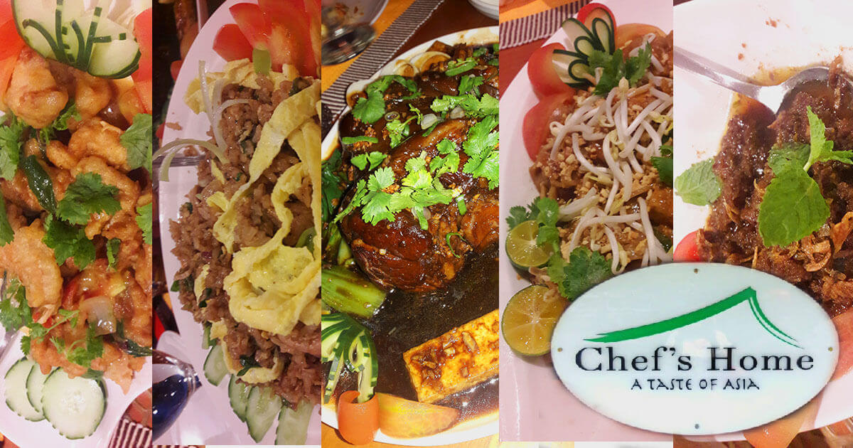 Chef's Home, A Fusion Of Southeast Asian Cuisine