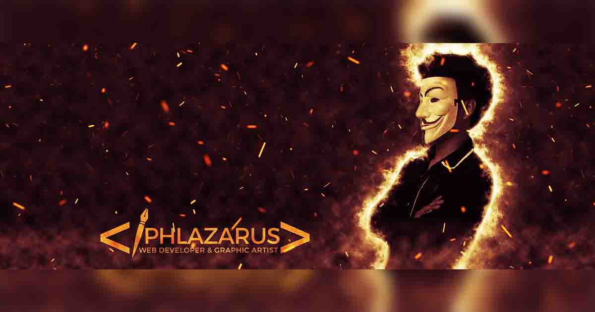 PHLAZARUS -The Masked Man Of Graphic Designs