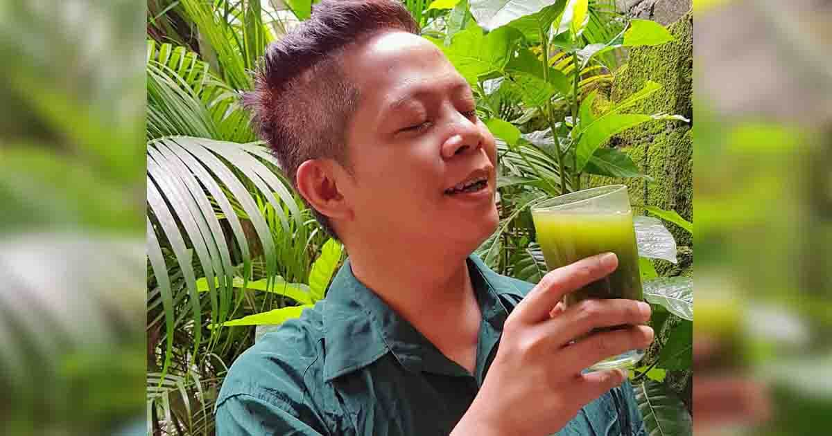 Rei Alba's Green Juice Remedy To Beer Belly